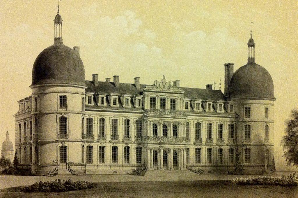 Les deux tours évoquent l'histoire médiévale du Château de Digoine.