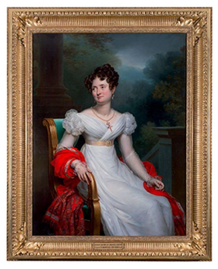 Personnage emblématique de l'histoire de Digoine, la comtesse fut à l'initiative des travaux de modernisation du XIXe siècle.