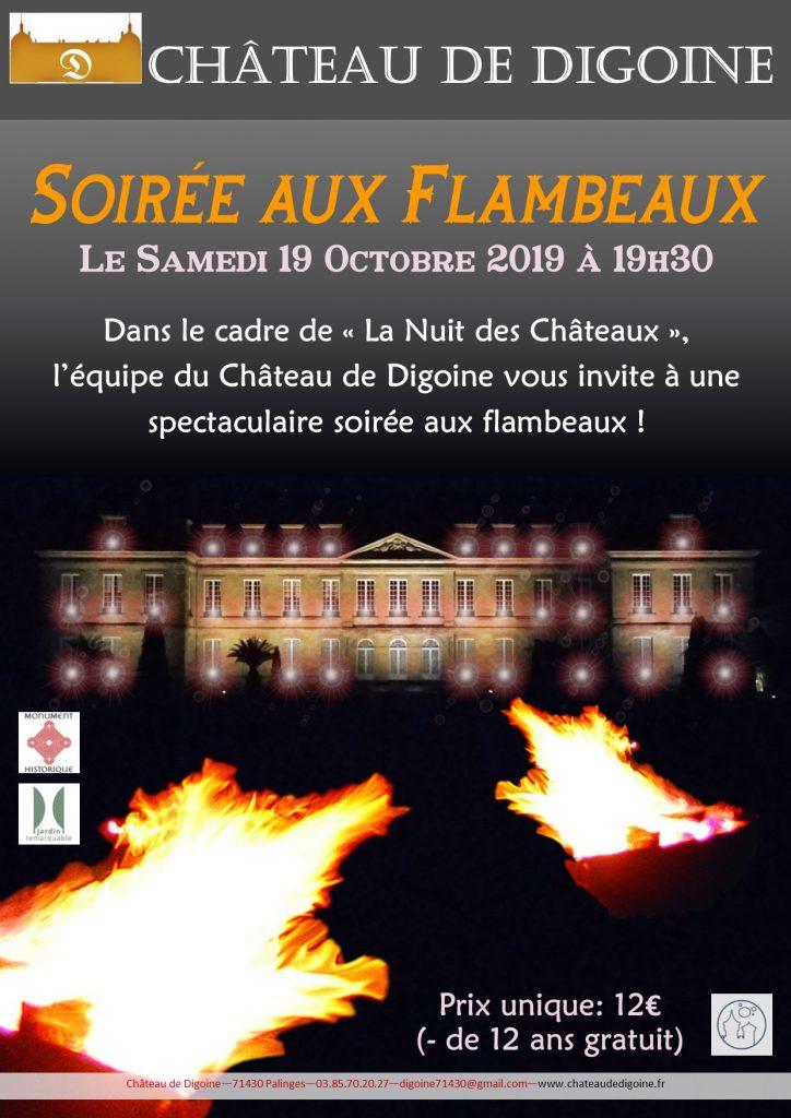 Affiche de la soirée aux flambeaux (2019)